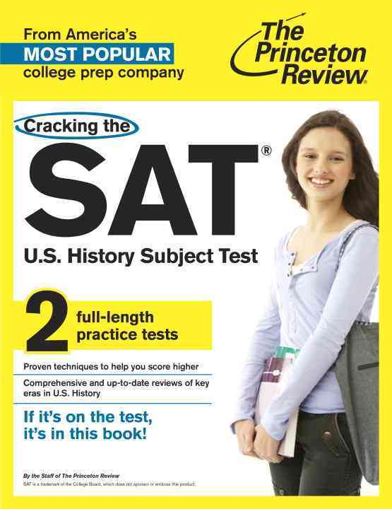 Princeton Review Cracking the SAT U.S. History Subject Test By Princeton Review (COR)